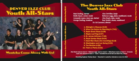 2010 cd cover front and back