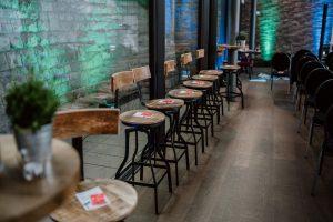 Ein Event von Youth Business Germany leere Stühle