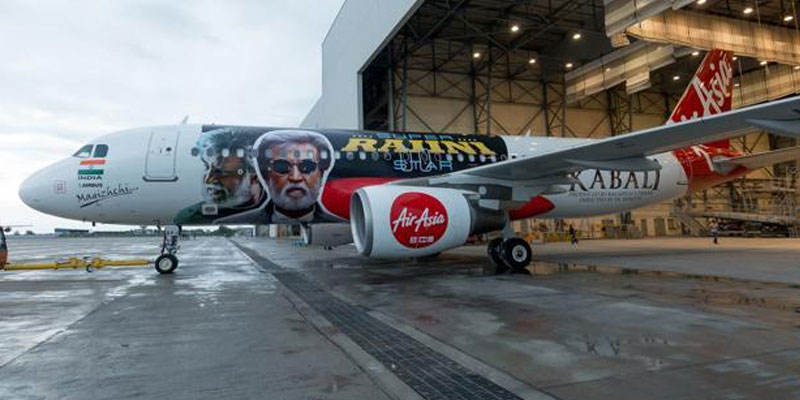 Rajinikanth-flies-Air-Asia-pays-tribute-to-Thalaivar-with-special-Kabali-aircraft-indialivetoday