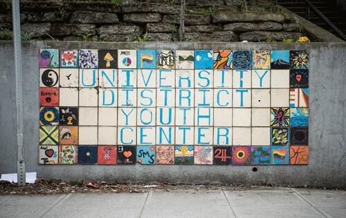University District Youth Center Mosaic