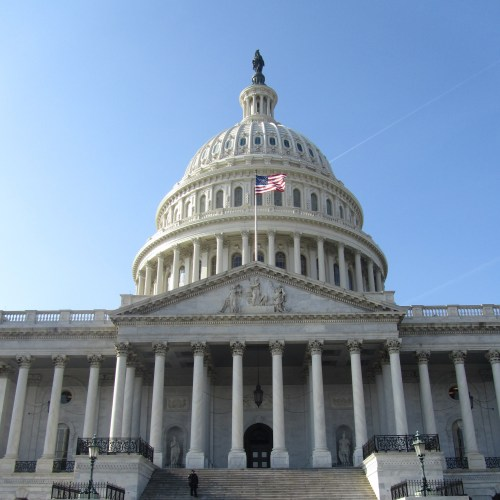 Picture of Capitol Building in DC
