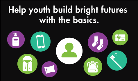 Help youth build bright futures with the basics.