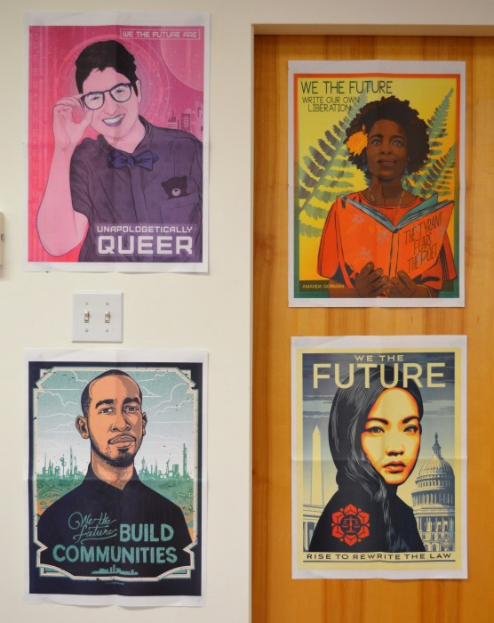 Posters at UD GED