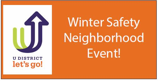 Winter Safety Neighborhood Event