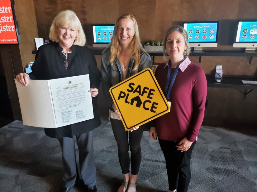 YouthCare and Friends of Youth accept proclamation from King County Council