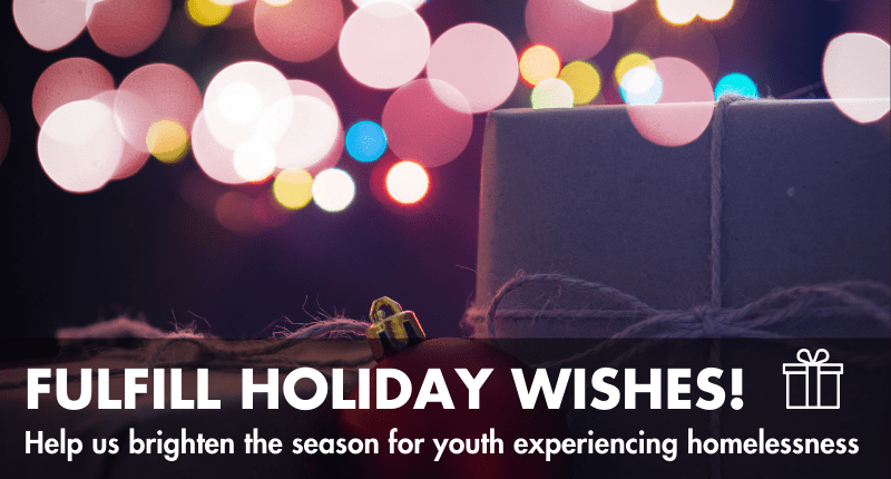 fulfill a holiday wish