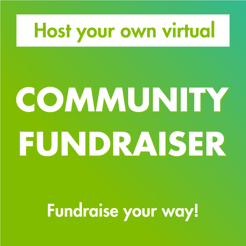 host your own community fundraiser