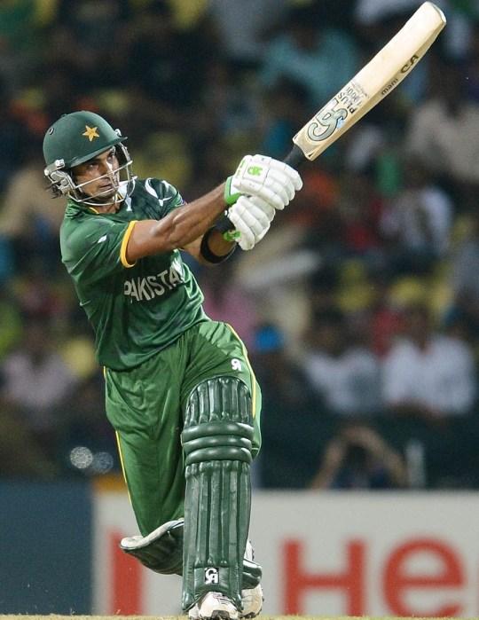 Imran Nazir ICC Twenty20 2012