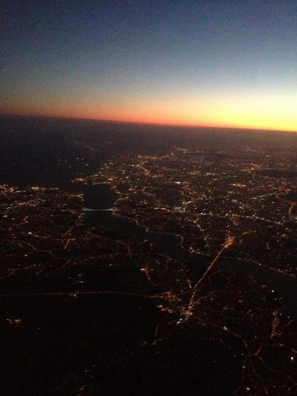 Birdseye view of Istanbul