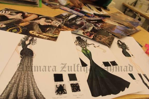 Ammara's sketches