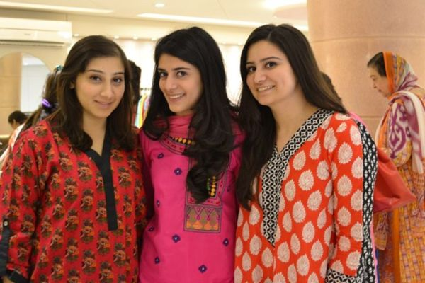 The Girls of 3 Footwear - Kanza Naheed, Saba Magsi and Mahrukh Isa