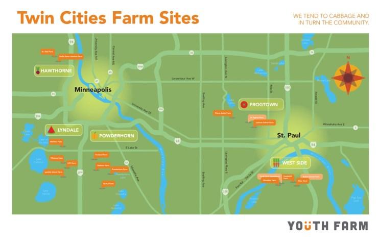 twin cities farm sites