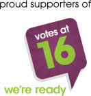 Votesat16 Logo supporters