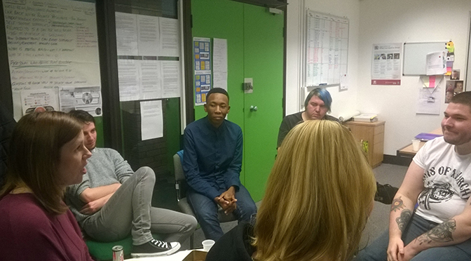 Tees Valley Young Trainers Bullying Meeting