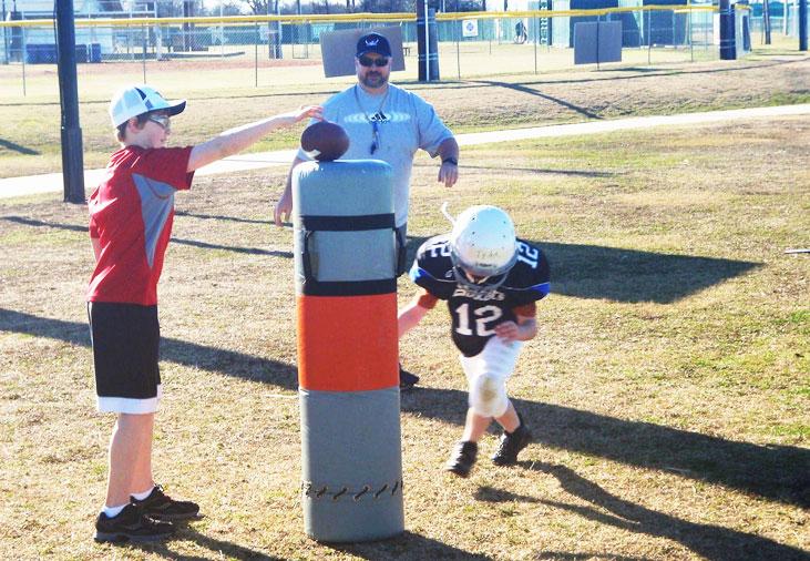 youth football coaching basics 101