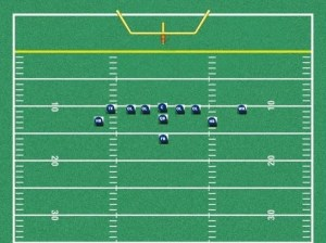 youth football wing t offense