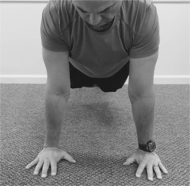 front pushup