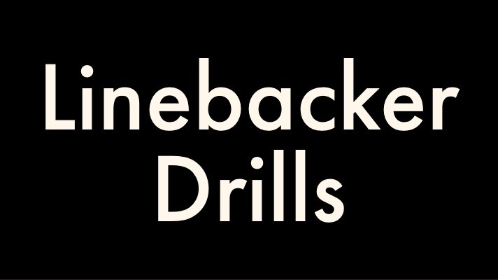 Linebacker Drills for Youth Football