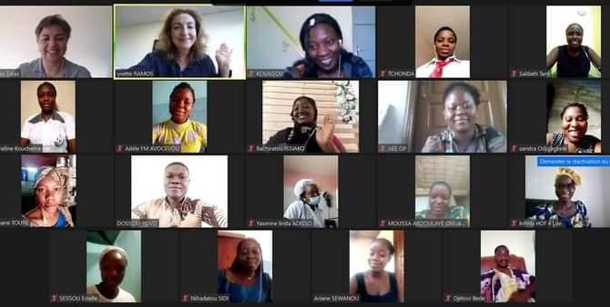 """Das im vergangenen Dezember in Zusammenarbeit mit der internationalen Organisation WOMENVAI initiierte Projekt """"Weibliche Führung und Wertschöpfung in Benin"""" wird fortgesetzt."""