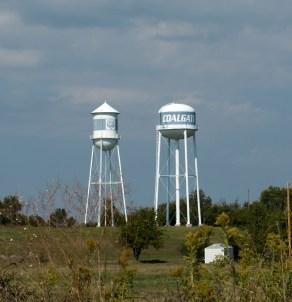 Colgate, Oklahoma where my mom grew up.