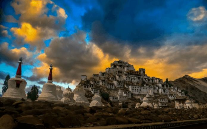 Buddhist Monasteries leh