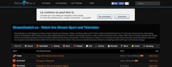 موقع stream2watch