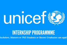 Photo of UNICEF INTERNSHIP FOR FRESH GRADUATES