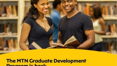 Photo of MTN GRADUATE TRAINEE PROGRAMME 2021 FOR YOUNG GRADUATES ACROSS AFRICA