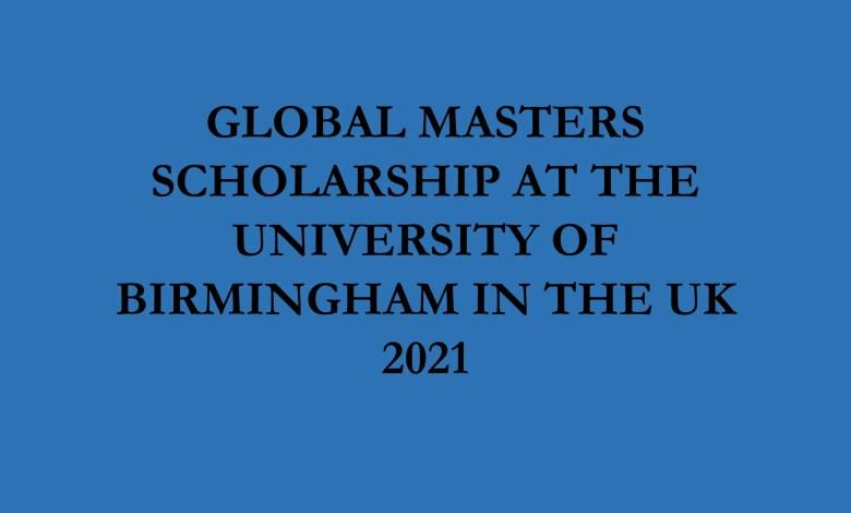 Global Masters Scholarship