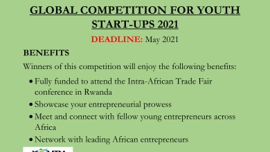 Photo of GLOBAL COMPETITION FOR YOUTH START-UPS 2021