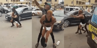 """Fraud Boy went mad after stepping from his Benz shouting, """"I don't need your money"""" - Watch the video"""