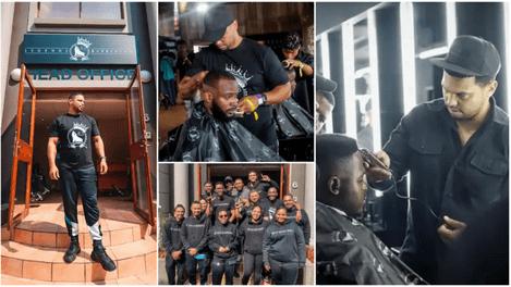 Man quit job to start a barber business