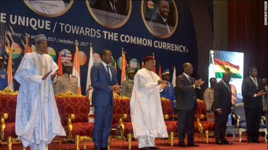 Ghana and west african countries ecowas single currency eco 2027