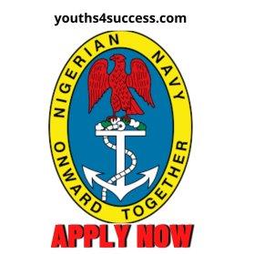 Nigerian Navy recruitment form
