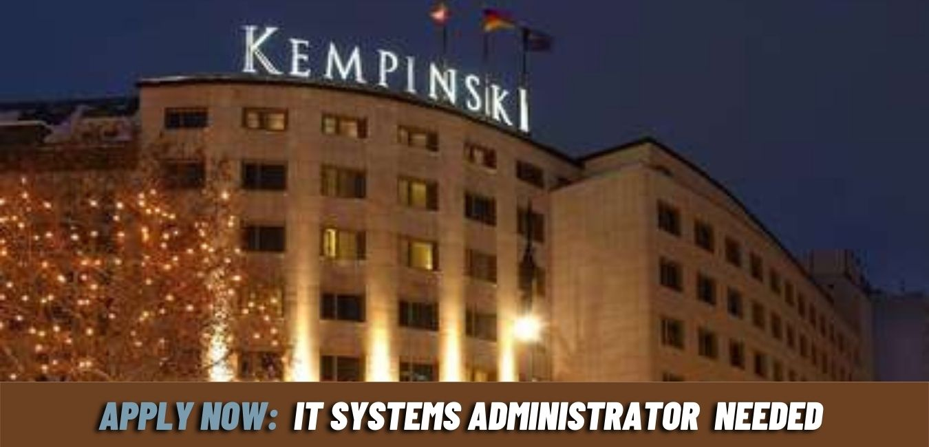 IT systems administrator