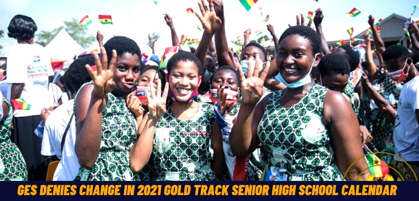 Gold Track Senior High School calendar