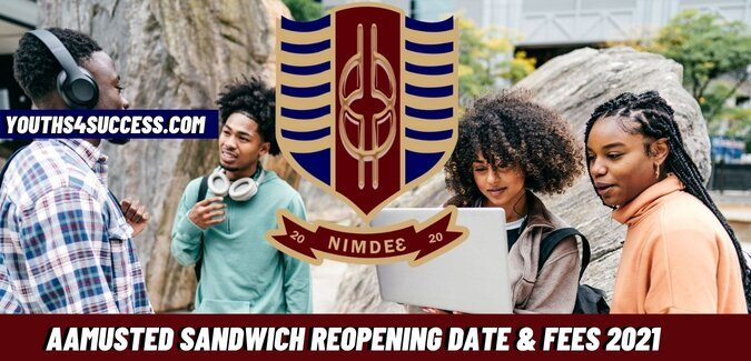 AAMUSTED Sandwich Reopening Date & Fees 2021