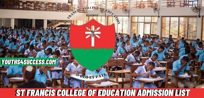 St Francis College Of Education Admission List