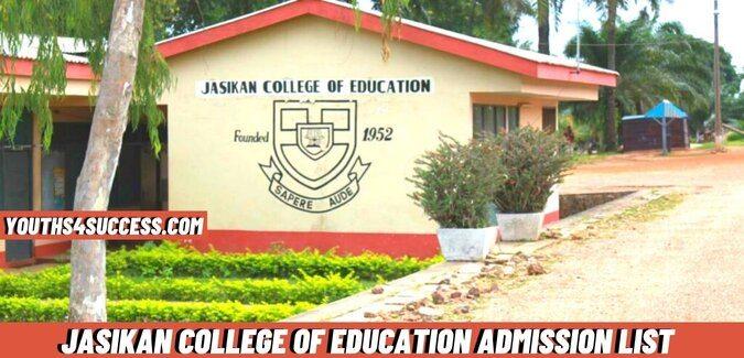 Jasikan College Of Education Admission List