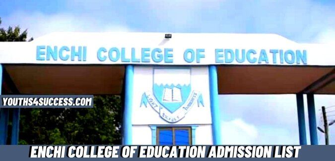 Enchi College Of Education Admission List
