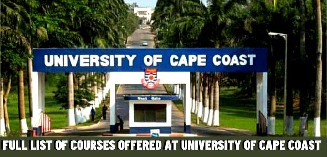 university of cape coast courses