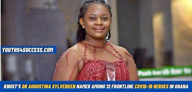 KNUST's Dr Augustina Sylverken Named Among 12 Frontline Covid-19 Heroes In Ghana