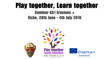 "Обучение ""Play Together, Learn Together"" в Мадрид, Испания, 14-19.03.2017"