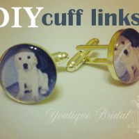 DIY Custom Cuff Link Tutorial