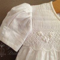 Baptismal or Flower Girl Gown Restyle