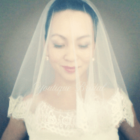 DIY Drop Veil, Ballet Length Veil, & Mantilla Veil