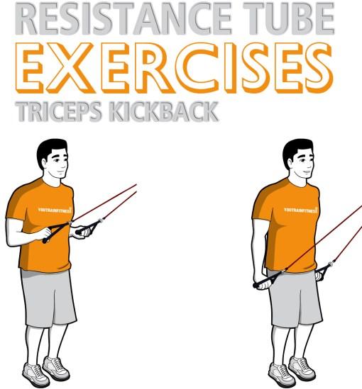 resistance-tube-standing-triceps-kickback