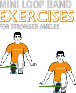 Mini Band Ankle Exercises