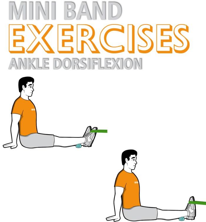 Mini Band Ankle Dorsiflexion