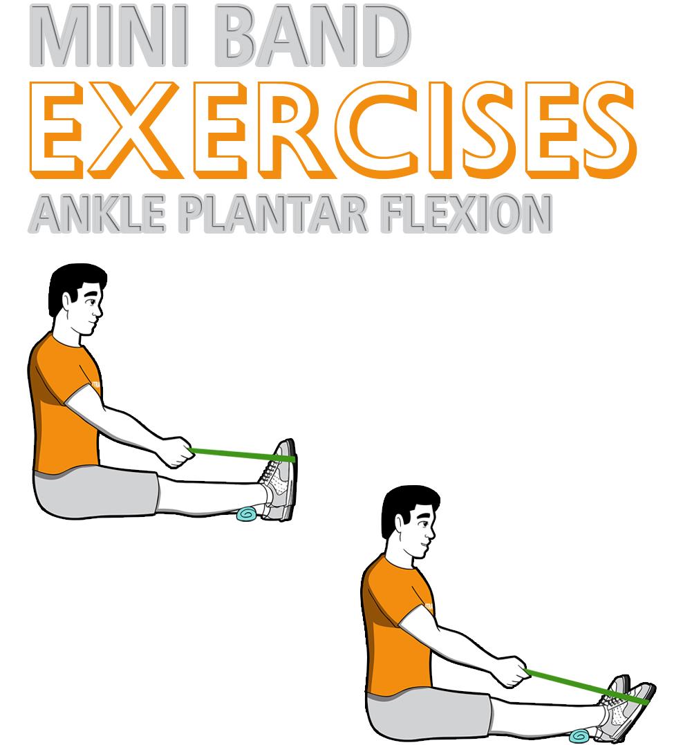 Mini Band Ankle Plantar Flexion